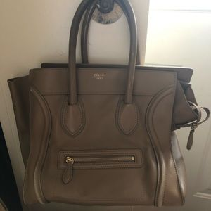 CELINE MINI LUGGGE TOTE